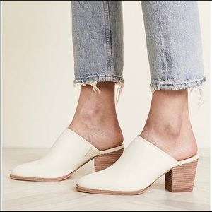 NWT Madewell The Harper Leather Mule💋